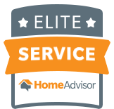 HomeAdvisor Elite Service Badge