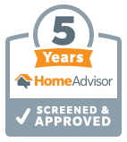 HomeAdvisor 5 Year Bagde